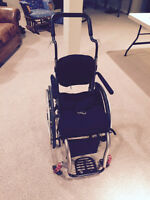 Ti Lite ZRA Wheelchair Heavily Optioned Original Cost $8,054