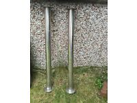 GIANT STEEL TABLE TOP LEG SUPPORT
