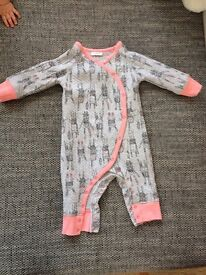 Next sleep suit 3-6m