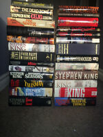 REDUCED PRICE!! Stephen King Hard Cover Lot of 27 Books