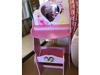 Disney Princess Wooden Vanity Table