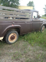 1959 FORD F250   RESTORATION PROJECT