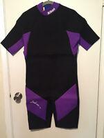 NIKON Underwater XL Neoprene Back ZIP Wet Suit Henderson NEW