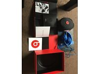 Beats dr dre (genuine) solo hd blue wired on ear headphones