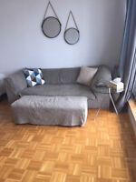 2 1/2 furnished app in downtown Montreal for rent wifi/cable inc