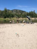 Okanagan miracle property 2  homes ,large  white sandy beach