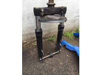 Gilera runner vx forks complete with bearings spindle speedo clean