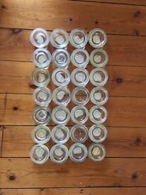 28 tealight candle holders