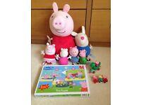 Peppa pig teddy bundle