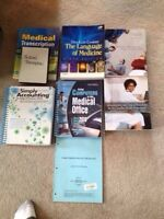 Medical Administration Text Books - GREAT DEAL!!!