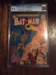 Batman Comic 111 From 1957! CGC 4.5!