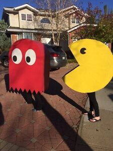 Pacman and Ghost Halloween Costumes Strathcona County Edmonton Area image 2