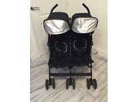 Maclaren twin techno double buggy pushchair