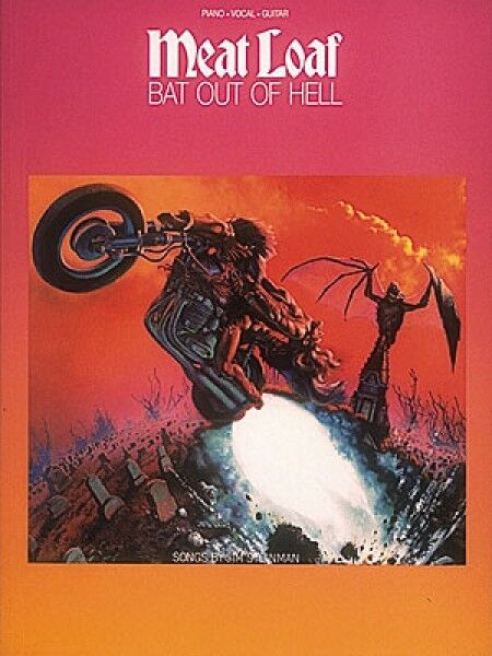 Meat Loaf Bat Out of Hell Sheet Music Piano Vocal Guitar SongBook NEW 000308103