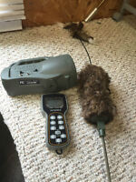 Foxpro Spitfire call and MOJO coyote decoy