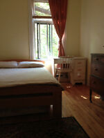 Mile End 2 bedroom sublet July 26th to Aug 8th