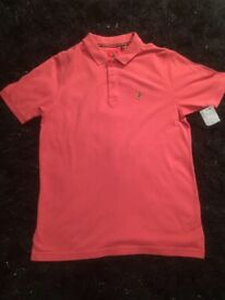 Men's Luke Polo T-Shirt Brand New Size Large