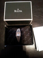 Bulova Women's 10K Crystal-accented Stainless Steel Watch