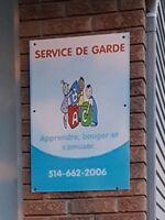 Service de garde milieu familiale (3 places libre)