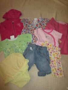 Girls Summer Clothing, Size 9-12 months