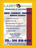 Tutorat pour primaire *secondaire MATH ET FRANCAIS / 120 le mois West Island Greater Montréal Preview