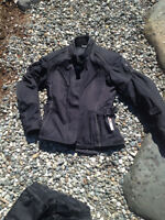Womens Motorcyle Pants and Jacket Size 8