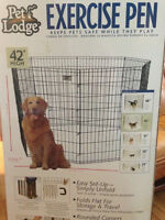 42 inch high dog crate / pen