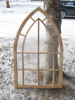 Antique Gothic Top Window