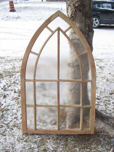Antique Gothic Top Window