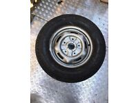 Ford transit wheel with tyre