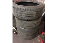235 45 18 tyres x4 with excellent tread supplied and fitted 235 45 ZR18