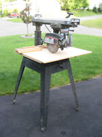 "B&D 10"" Radial Arm Saw"