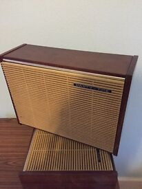 Retro Wooden Speakers