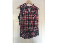 Miss America Cowgirl Blouse Size S NEW