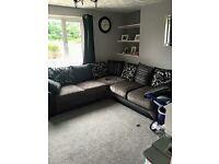 9ft by 9ft corner sofa