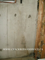 WET BASEMENT / FOUNDATION CRACK REPAIR SERVICE / MISSISSAUGA