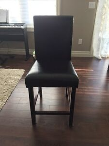 4 leather stools London Ontario image 1