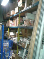 40FT WAREHOUSE SHELVING EXCELLENT CONDITION