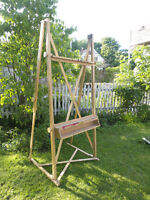Custom-made professional painters easel-large scale