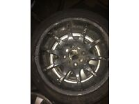 Honda civic golf polo 4x100 multifit jap price drop!!!! Need gone