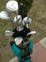 ENSEMBLE DE GOLF EN GRAPHITE  EDISON QUEST, DROITIER