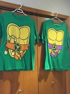 Adult TMNT Costume Shirts - L and 2XL