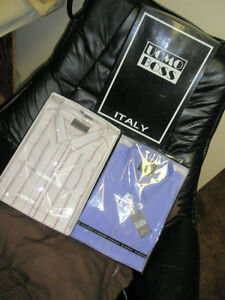 Leo Chevalier and Uomo Boss Italian Shirts & Ties