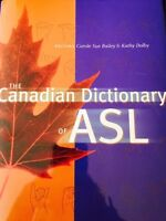 The Canadian dictionary of ASL for sale