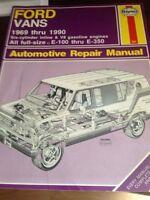 shop manuel ford e250-e350 1969-1990... neuf motorisé