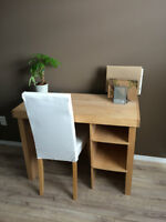 Real Maple Desk with matching chair
