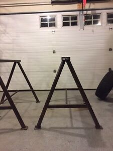 Heavy Duty Steel Sawhorse