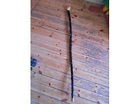 Irish Traditional Blackthorn Walking Stick