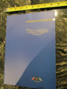 TRIUMPH 2002 MOTORCYCLE CLOTHING AND ACCESSORIES CATALOG