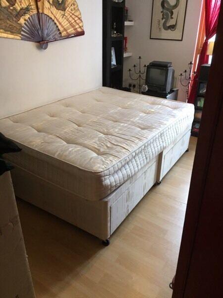 Divan bed and mattress